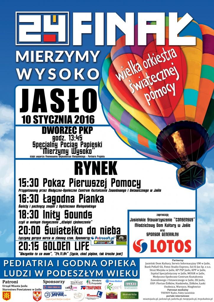 plakat WOŚP 2016